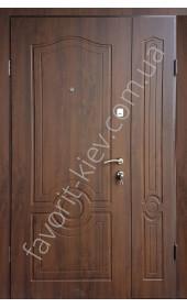 Полуторные уличные входные двери, модель «Манчестер»