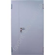 Противопожарные входные металлические двери ЕІ-60 двустворчатые