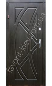 Входные двери с МДФ, модель «Футон»