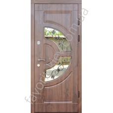 Входные уличные двери, модель «Милан», 2 мм. сталь, толщина полотна 80 мм.