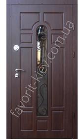 Входные уличные двери, модель «Стенли», 2 мм. сталь, толщина полотна 80 мм.