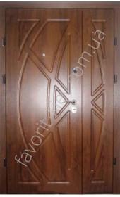 Полуторні вхідні двері, модель «Вікінг»