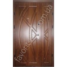 Полуторная входная дверь, модель «Викинг»