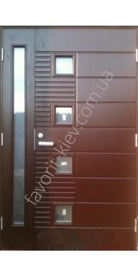 Полуторная входная дверь, модель «Престиж»