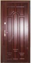 Вуличні вхідні двері, модель 138, товщина полотна 78 мм