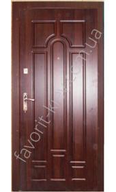 Уличная входная дверь, модель 138, толщина полотна 78 мм