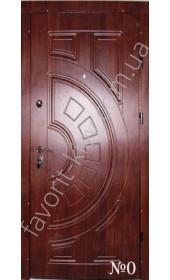 Входные уличные двери Греция, «Vinorit» с двух сторон