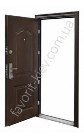 Металлические двери входные, модель 139