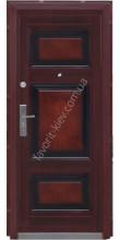 Дверь входная металлическая, модель «Kvadra+»
