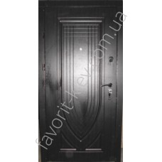 Двери входные металлические, модель «Arka-M»