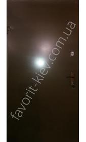 Бронедвері «Молоток», Хамарайт покриття з зовні і всередині МДФ