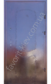 Вхідні двері «Стабіліті» Порошкове фарбування з декором Преміум класу