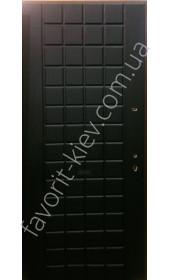 Входные двери среденго класса 1,5 мм сталь,модель «Куба»