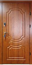 Вхідні двері «Інтера» 2 мм. сталь, золотий дуб, товщина полотна 80 мм