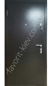 Металлические двери метал\мдф лист металла 1,5 мм.