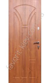 Входные уличные двери «Олимп» 1,5 мм. сталь, Золотий дуб