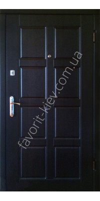 Вхідні вуличні і квартирні двері модель «Цыклон», товщина полотна 70 мм, 1,5 мм сталь