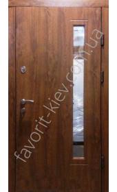 Входная дверь со стеклопакетом, модель «Лаванда»