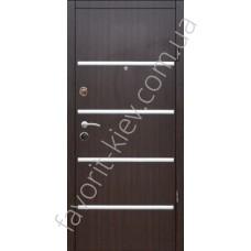 Металлические входные двери, модель 28