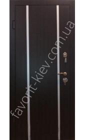 Сучасні вхідні двері, модель «Вертикаль»