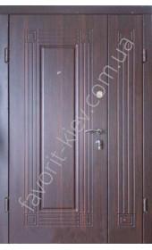 Полуторні вхідні двері, модель «Модерн»