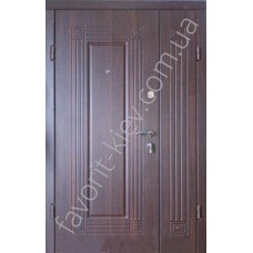 Полуторная входная дверь, модель «Модерн»
