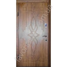Входные уличные бронированные двери «Цветок», Вип класса