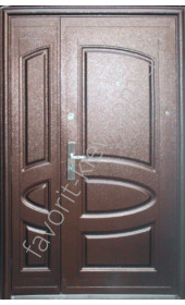 Полуторні вхідні двері, модель «А08»