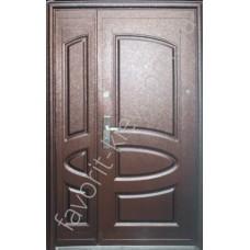 Полуторная входная дверь, модель «А08»