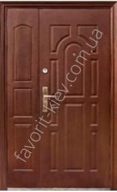 Полуторні вхідні двері, модель «А28»