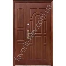 Полуторная входная дверь, модель «А28»
