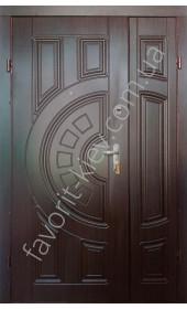 Полуторні вхідні двері, модель «Греція»