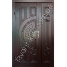 Полуторная входная дверь, модель «Греция»