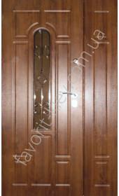 Полуторная входная дверь, модель «Элита»
