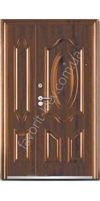 Металлическая входная дверь, модель 13, полуторная