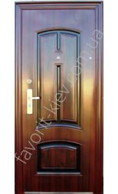 Металлическая входная дверь, модель «Luxor»