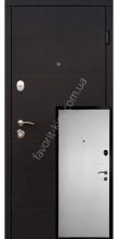 Входные двери, черно-белые, модель «Руана», 2 мм. сталь,толщина полотна 90 мм.