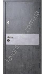 Входные квартирные двери, модель «Амос», 2 мм. сталь, толщина полотна 90 мм.