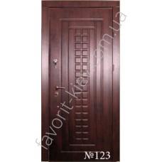 Металлические входные двери, модель 13 молоток