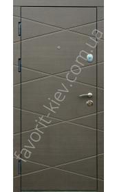 Бронедвери, модель «Интел», 2 мм. сталь, толщина полотна 90 мм.