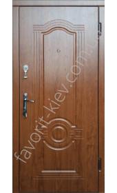 Входные двери, модель «Ронда», толщина полотна 75 мм.