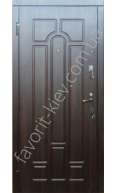 Входные двери «Классика», с утепленной коробкой среднего класса