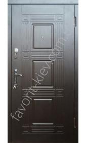 Входные двери, модель «Титан», толщина полотна 75 мм.