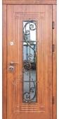 Входная дверь со стеклопакетом, модель «Левадия»