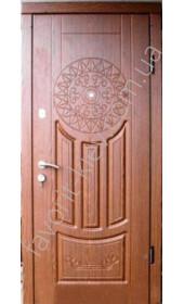 Вхідні двері «Світанок» з ексклюзивним малюнком