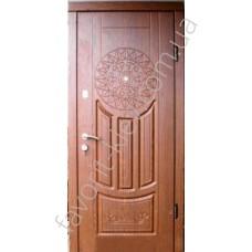 Входная дверь «Рассвет» с эксклюзивным рисунком