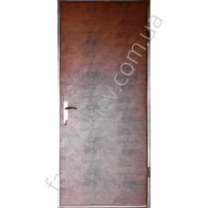 Входная дверь «Злата» с ДСП на две стороны и обтянута кожзамом