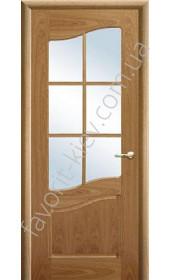 Межкомнатные двери Свобода Valdo 710 Орех ПО