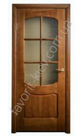 Межкомнатные двери Свобода Valdo 750 Тёмный орех ПО