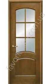 Межкомнатные двери Свобода Valdo 757 Орех ПО